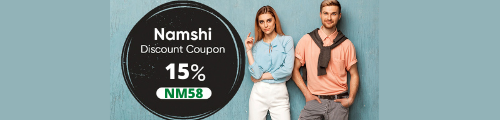 Namshi Promo code - Promo code Namshi – Get 15% Off Full Price and 5% Discounted Items