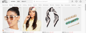 styli shop discount code for Women Accessories
